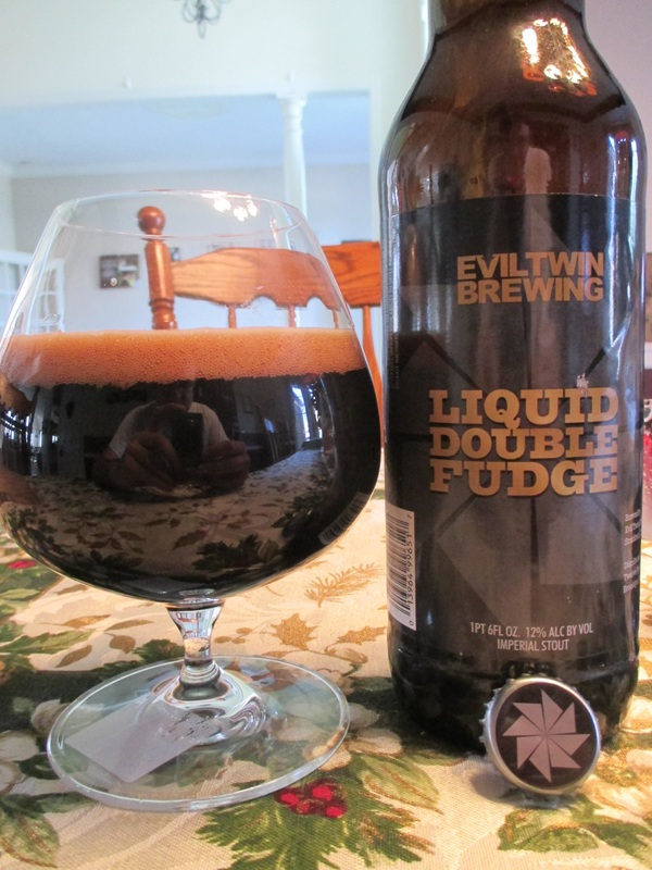 Evil Twin Liquid Double Fudge Beer Bomber