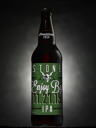 Stone IPA enjoy by 11.25.15