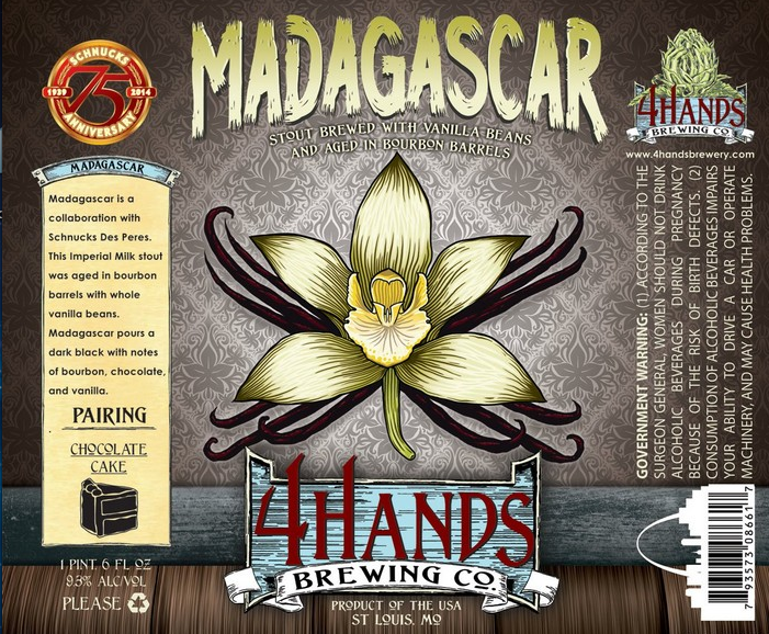 4 hands brewery Madagascar
