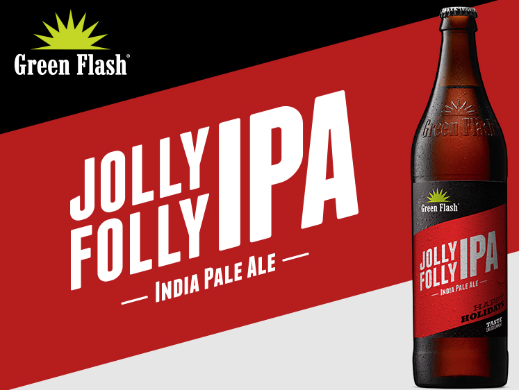 Jolly Folly IPA 22 oz beer bottle